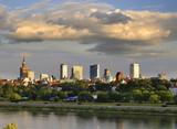 Panorama Warszawy z nad Wisły - 119443703