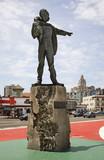 Monument to Jose Marti on Malecon esplanade in Havana. Cuba