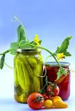 Домашние консерванты овощей