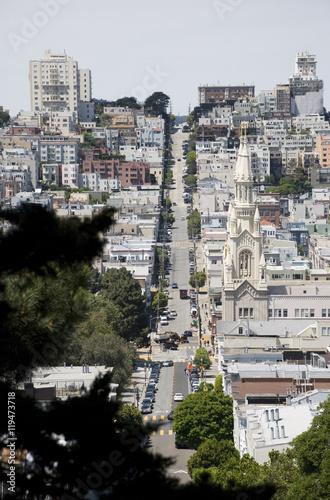 Straßen von San Francisco, Kalifornien