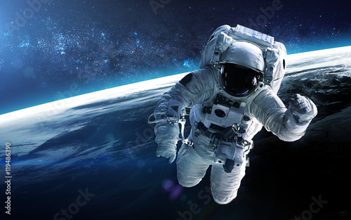 Foto op Canvas Heelal Jupiter colonisation. Elements of this image furnished by NASA