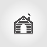 Cabin icon for websites and apps - 119487778