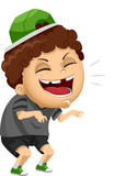 Kid Boy Bully Evil Laugh