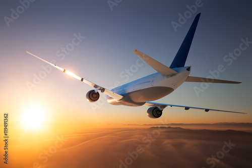 Plakat Vacation Flight 2
