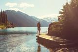 Fototapety Hike in Canada