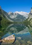 Bergsee Wasserspieglung Alpen