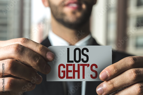 Poster Here We Go (in German)