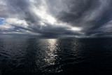 Low Clouds Over South Pacific Ocean - 119580121
