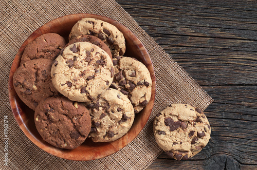 Poster Cookies in bowl