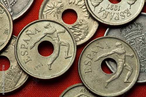Poster Coins of Spain