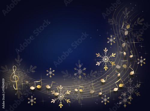 christmas music background