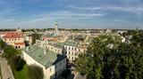Widok Satelita Ratusza Staromiejskiego w Zamościu, Polska