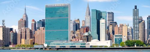 Fotobehang New York The midtown Manhattan skyline