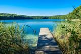 Landschaft am Trünnensee an der Mecklenburger Seenplatte - 119795565
