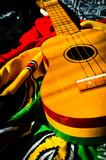 reggae background ukulele