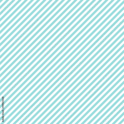Fototapeta Stripe pattern seamless green aqua and white colors. Fashion design pattern seamless .Geometric diagonal stripe abstract background vector.