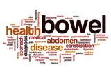 Bowel word cloud