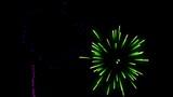 fireworks alpha transparence background
