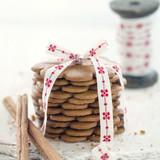 Pile of gingerbread cookies - 119846709