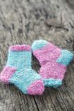 Two small woolen socks - 119846782