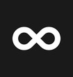 Infinity symbol icons vector illustration. Unlimited, limitless