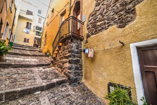 Papiers peints Ruelle etroite narrow alley in Castelsardo