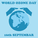 World Ozone Day.Vector illustration
