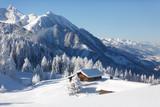 Wintermärchen in den Alpen