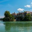 Laufenburg blick auf die Schweiz