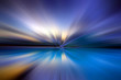 Abstract background in blue, white, black colors