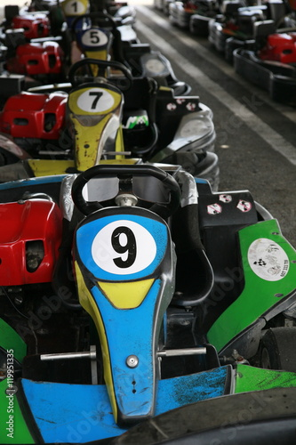 Poster karting