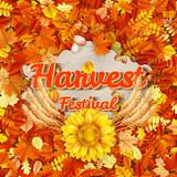 Harvest Festival Poster. EPS 10