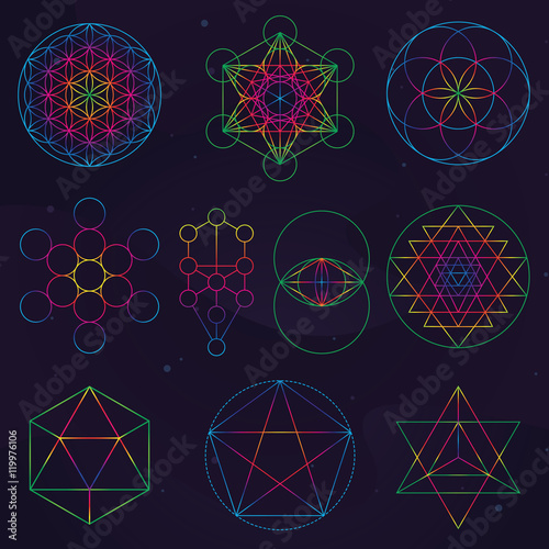 Classical Sacred Geometry Symbols