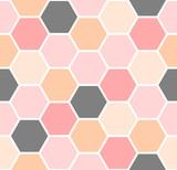Hexagon Seamless Pattern - 119985946