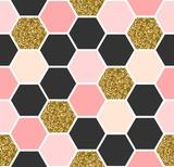 Hexagon Seamless Pattern - 119986161