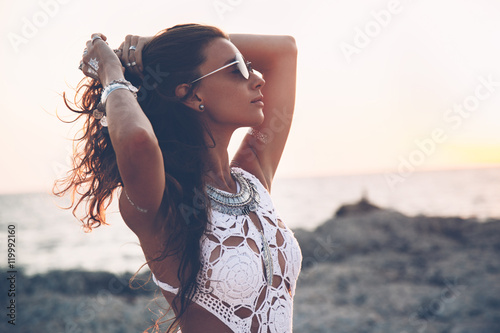 Poster Girl in boho style