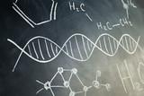 Hand drawn chemistry set