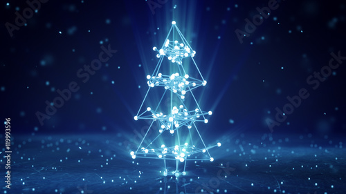Wire Frame  Tree   Glowing Wireframe Christmas Tree Shape Buy Photos Ap Images