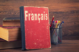 Fototapety learning French concept
