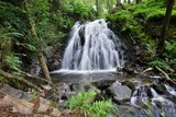A waterfall in the Lake District of Cumbria, in Northern England