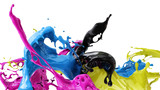 colors splash cmyk