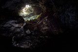 Entrance to the karst cave