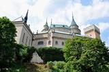 Park and Castle Bojnice, Slovakia, Europe