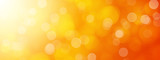 abstract orange bokeh background - 120024142