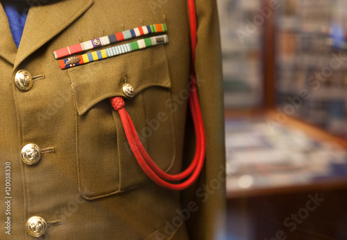 Poster Army uniform