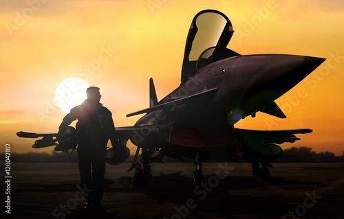 pilot-wojskowy-i-samolot-na-lotnisku-w-misji