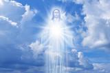 Jesus Christ in Heaven religion concept - 120049706