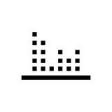 Movie clipper line icon.