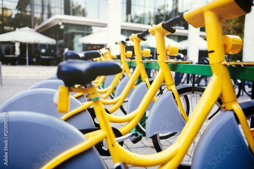 Poster Rentable eco city bikes