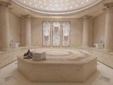Hammam spa bathroom